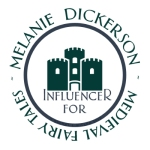 Melanie Dickerson Influencer Badge