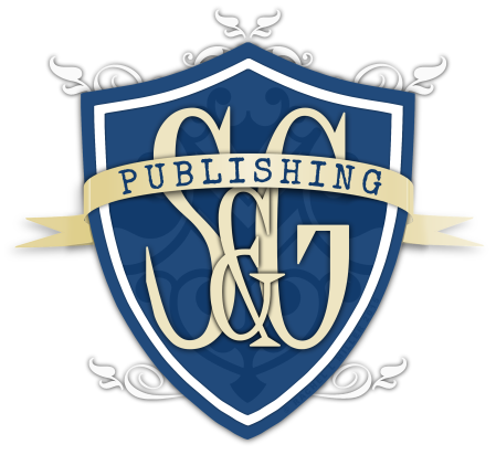 S&G Publishing Shield Logo - Cover and Spine 3D PNG